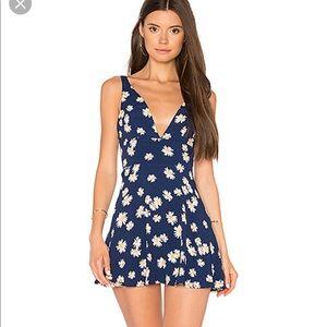 REVOLVE Torrey Dress in Navy medium
